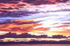 Clouds At Sea