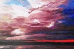 Storm Over Lake Gardner