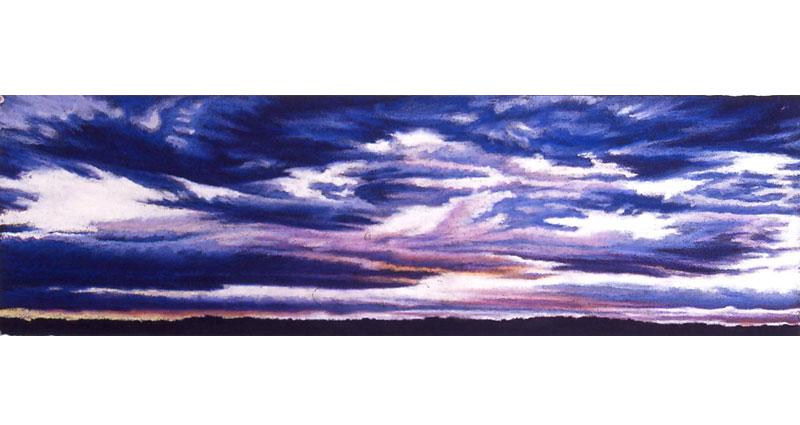 Cloud Flight Oil Pastel