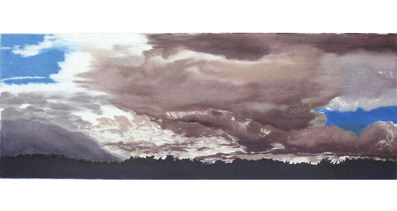 Gray Skies Monotype