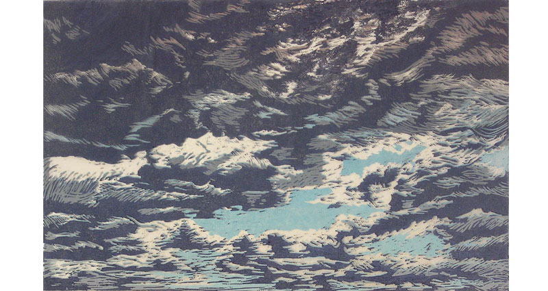 Heavy Clouds Print