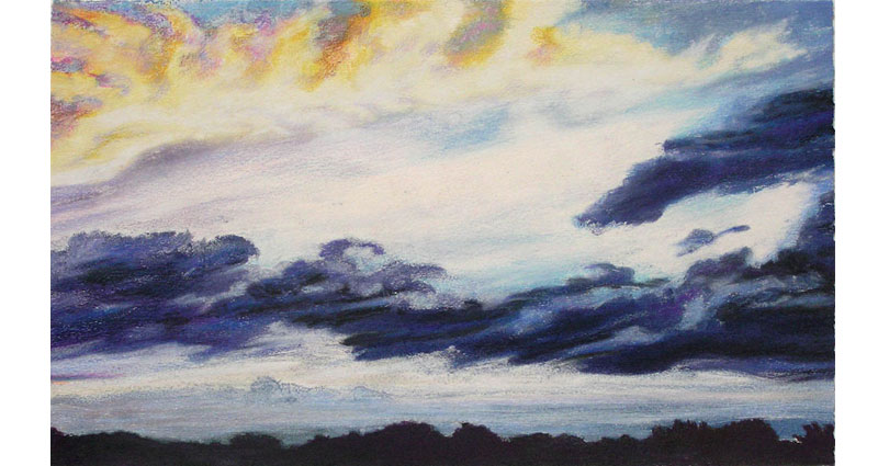 Rolling Clouds Monotype