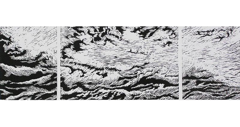 Sky Triptych Print