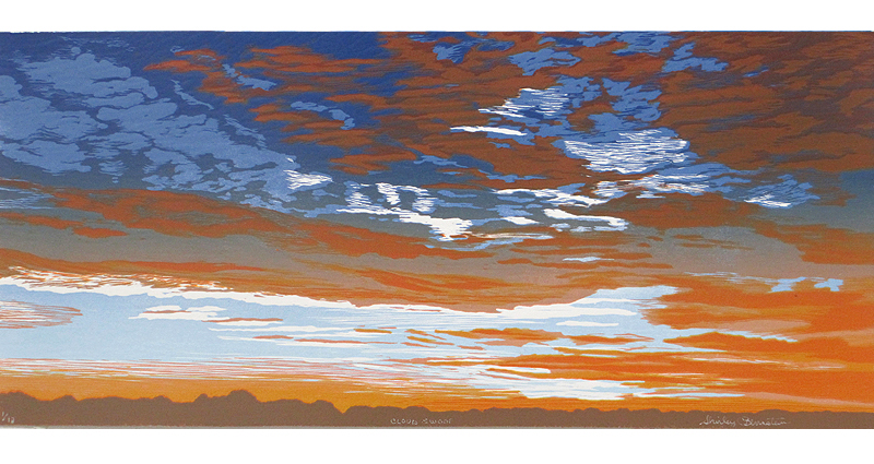 cloud swoop reduction print