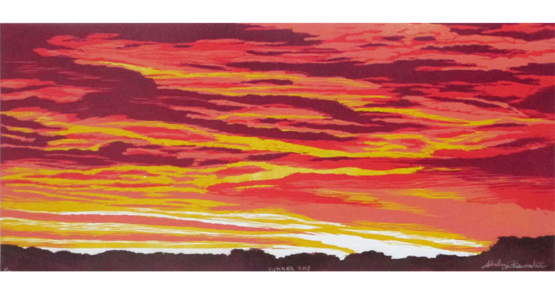 Summer Sky II print